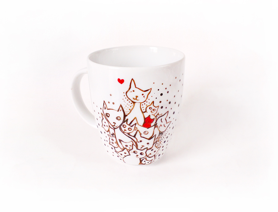 Kitten Mug by cydienne