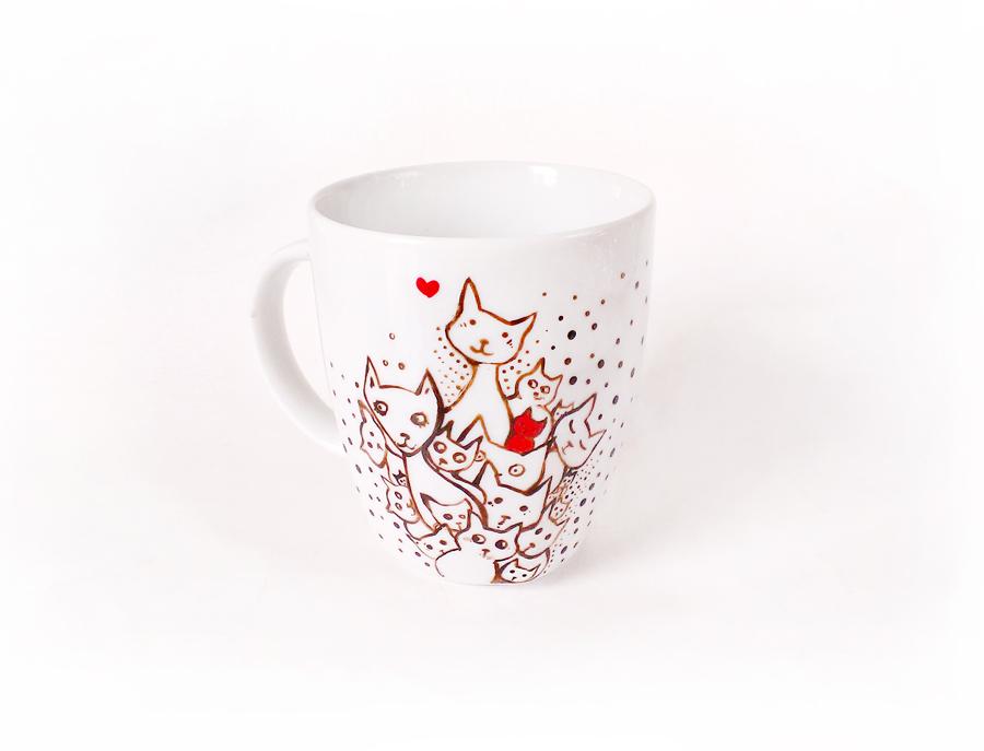 Kitten Mug by cydienne