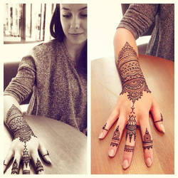 Two sides of henna