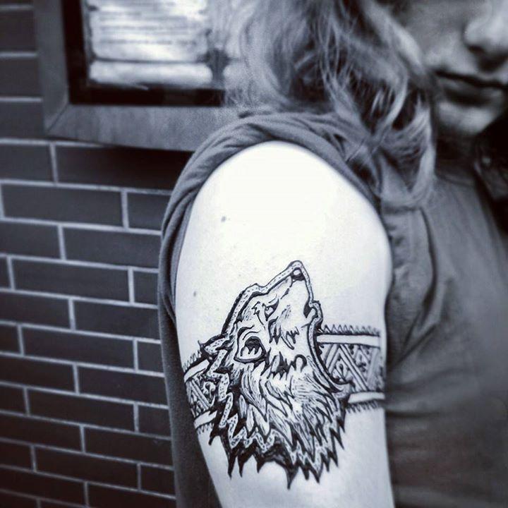 Wolf henna by cydienne