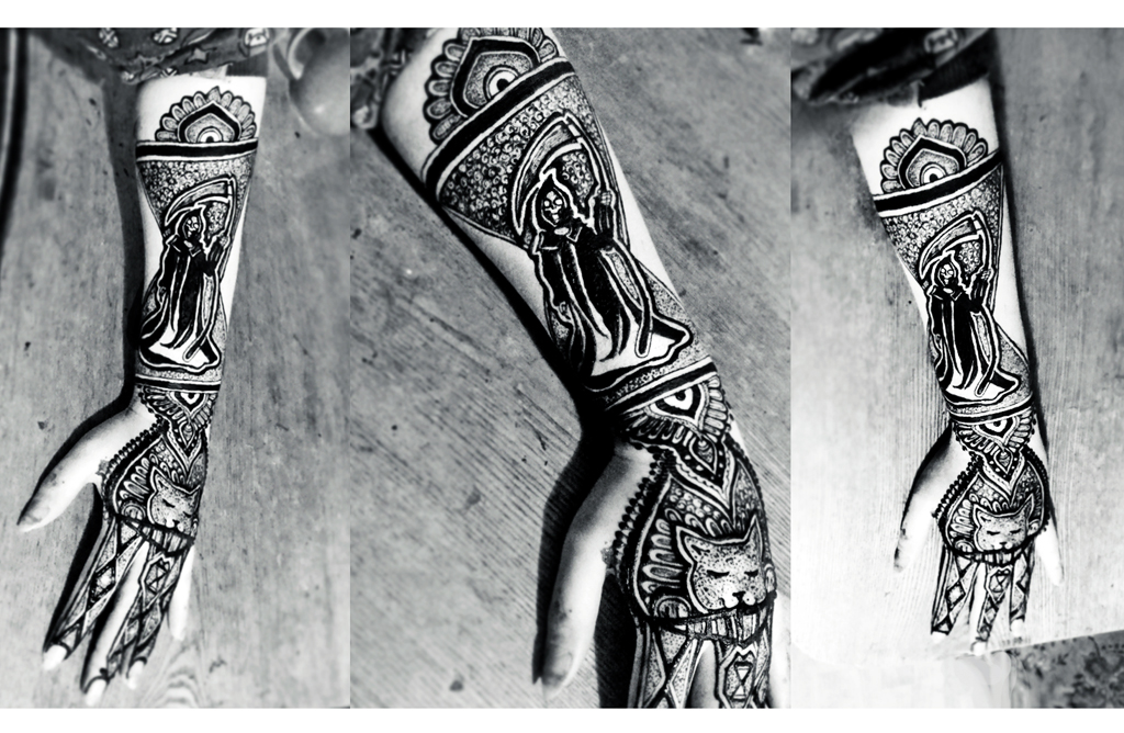 Disc World`s Death henna by cydienne