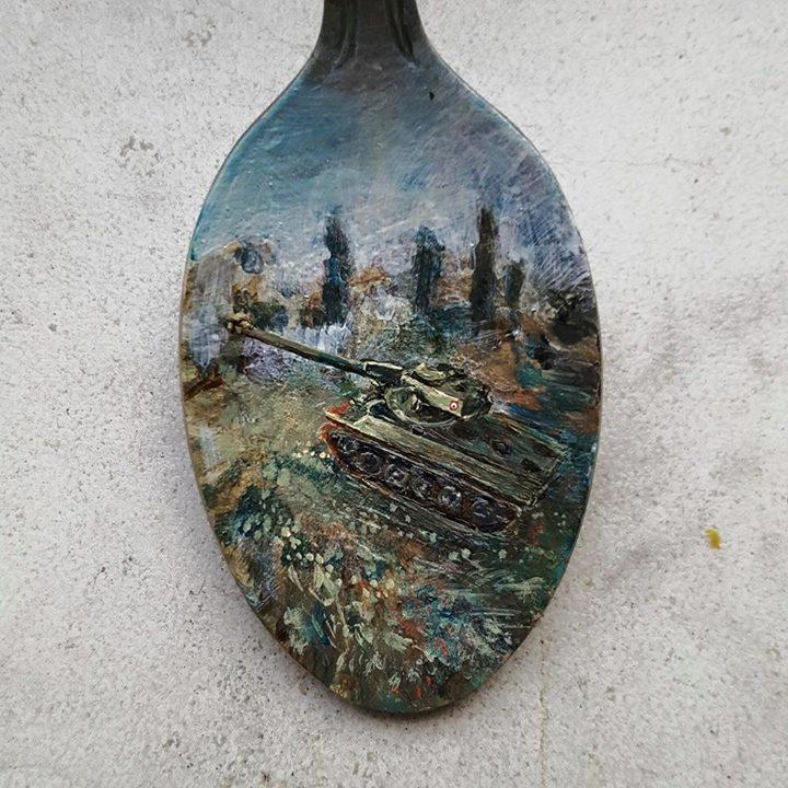 Custom tank-teaspoon by cydienne