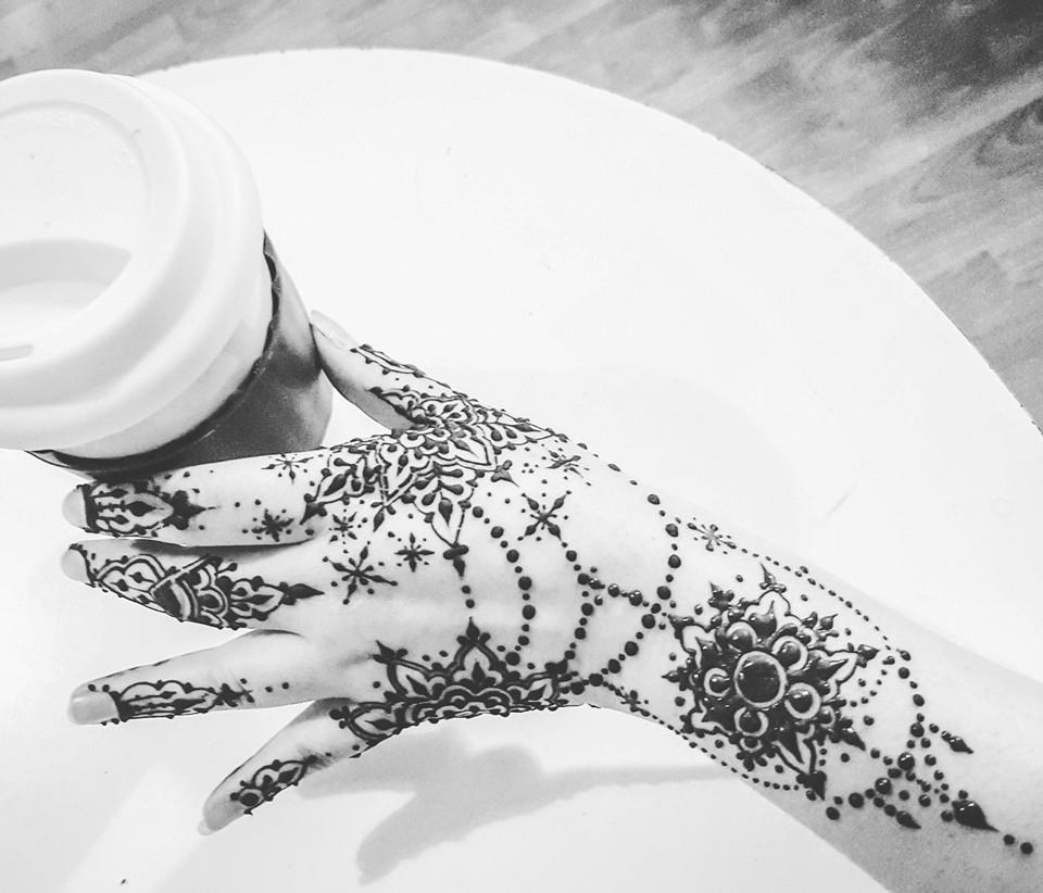 Henna stars by cydienne