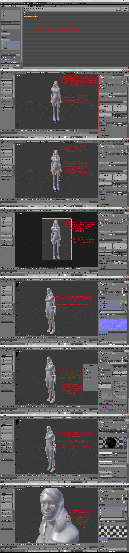 Blender 2 6 Character Modeling Tutorial : Rendering with blender tutorial part by