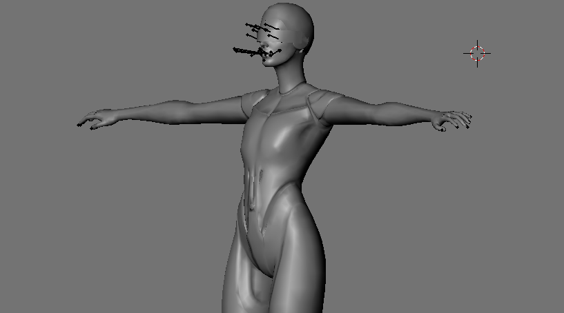 Edi Androgynous W.I.P. by TheRaiderInside