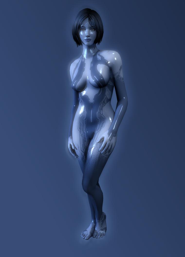 Halo - Cortana by TheRaiderInside