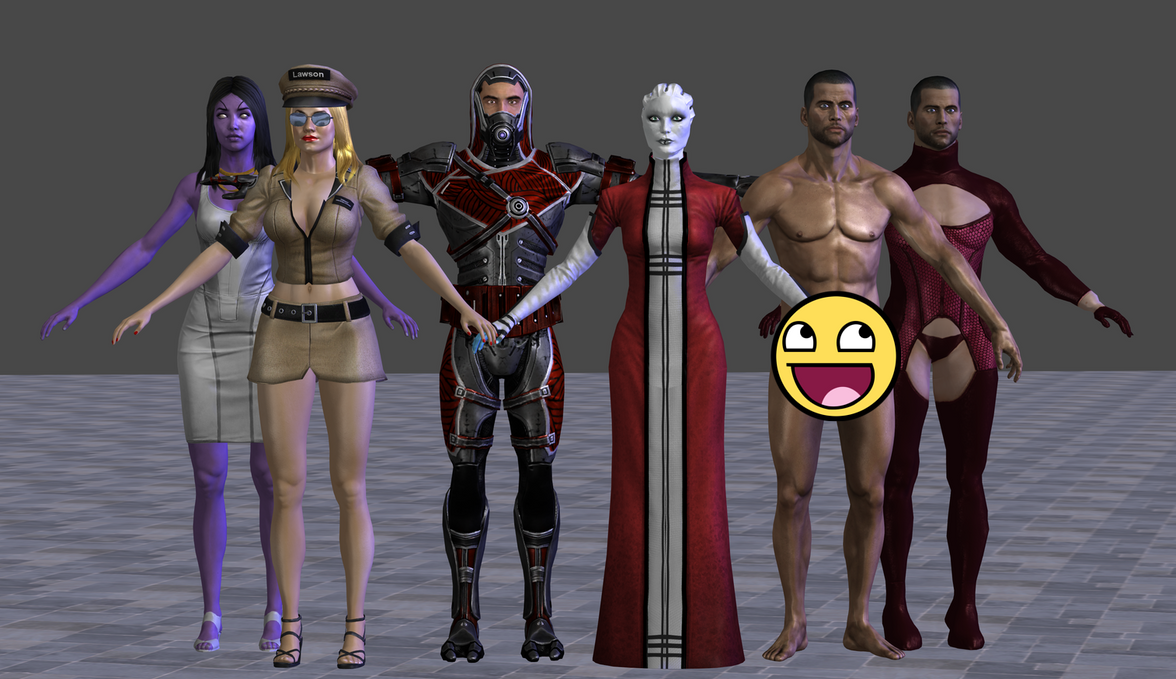 Mass Effect W.I.P.'s by TheRaiderInside