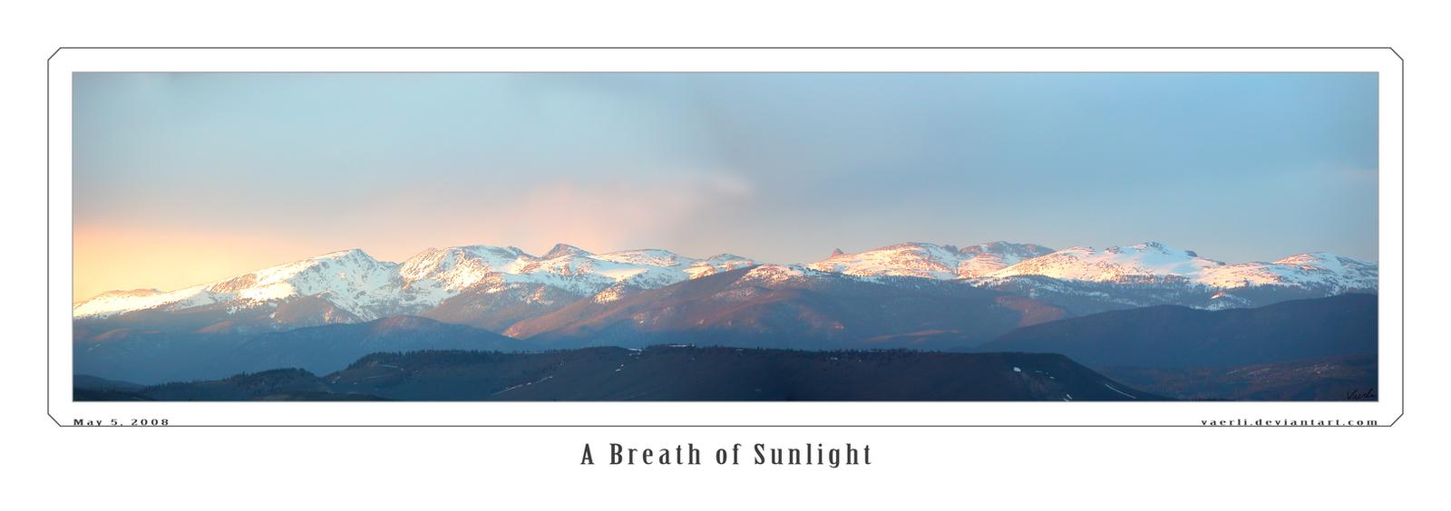 A Breath of Sunlight by Vaerli