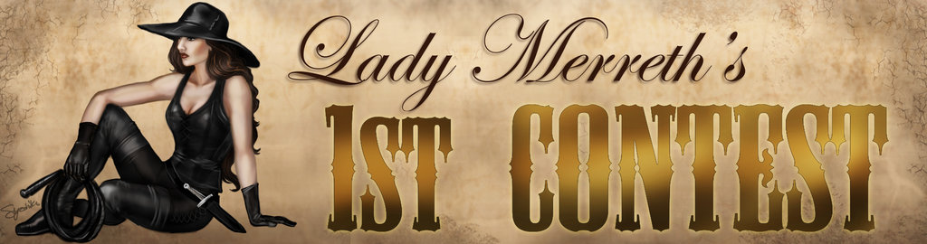 Lady Merreth Contest Banner By Syoshiko-d5oznz5 by LadyMerrethsAuthor