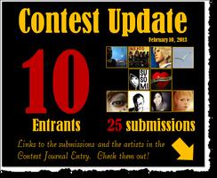 Ten Contest Entrants by LadyMerrethsAuthor