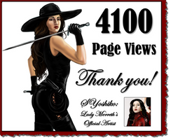 4100 Page Views! by LadyMerrethsAuthor