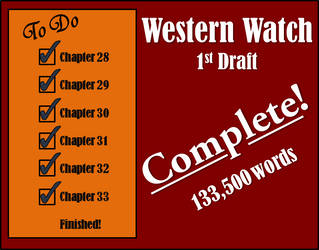 First Draft is Finished