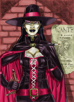 Bounty Huntress By Yacermino
