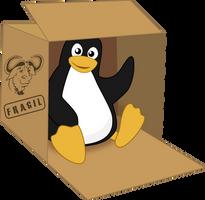 Tux in a box by MawsCM