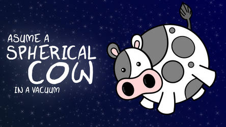Spherical Cow by MawsCM