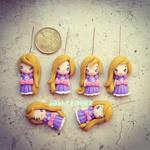 Rapunzel miniature charms