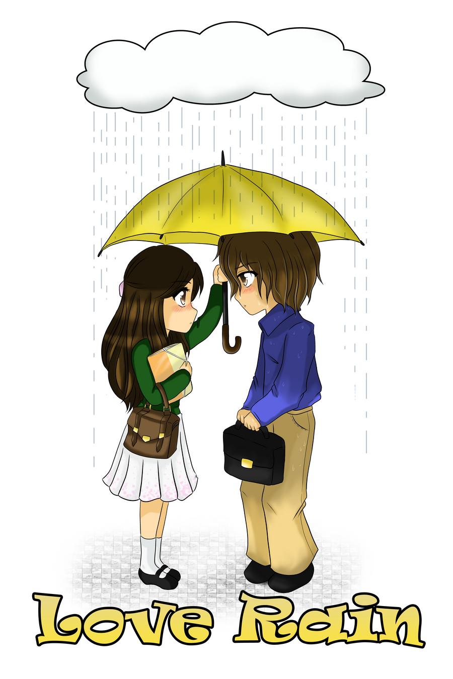 Love Rain by TsuchiKuroi on DeviantArt Jang Geun Suk Love Rain Wallpaper