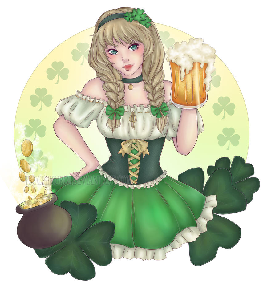 Shamrocks by TsuchiKuroi