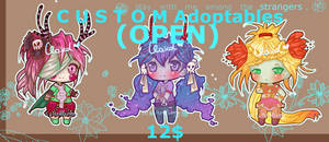 Custom Adoptables (OPEN) by ms-villeroy