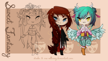 ADOPTABLES - Sweet Fantasy [OPEN] by ms-villeroy