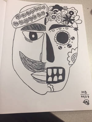 Dia de los Muertos by mirabaliga
