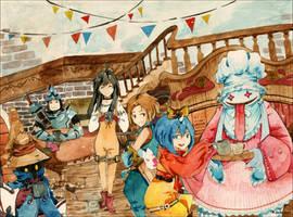 Final Fantasy 9 by Karinka-san
