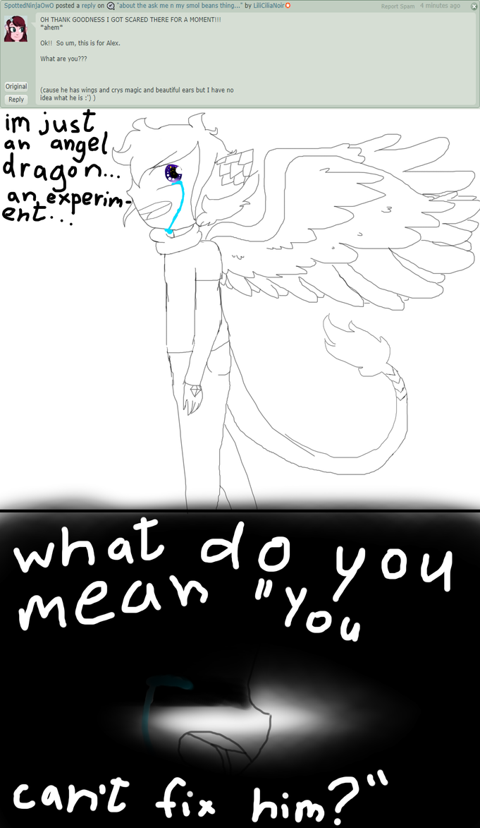 ask me n my smol beans 7 by lilicilianoir on deviantart