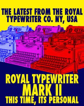Royal Typewriter Mark II