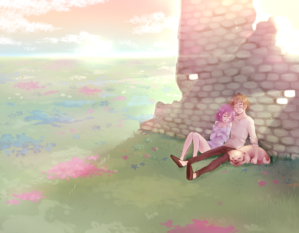 a dream by milkgrrl