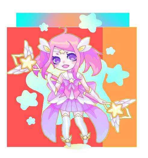 Star Guardian Lux by milkgrrl