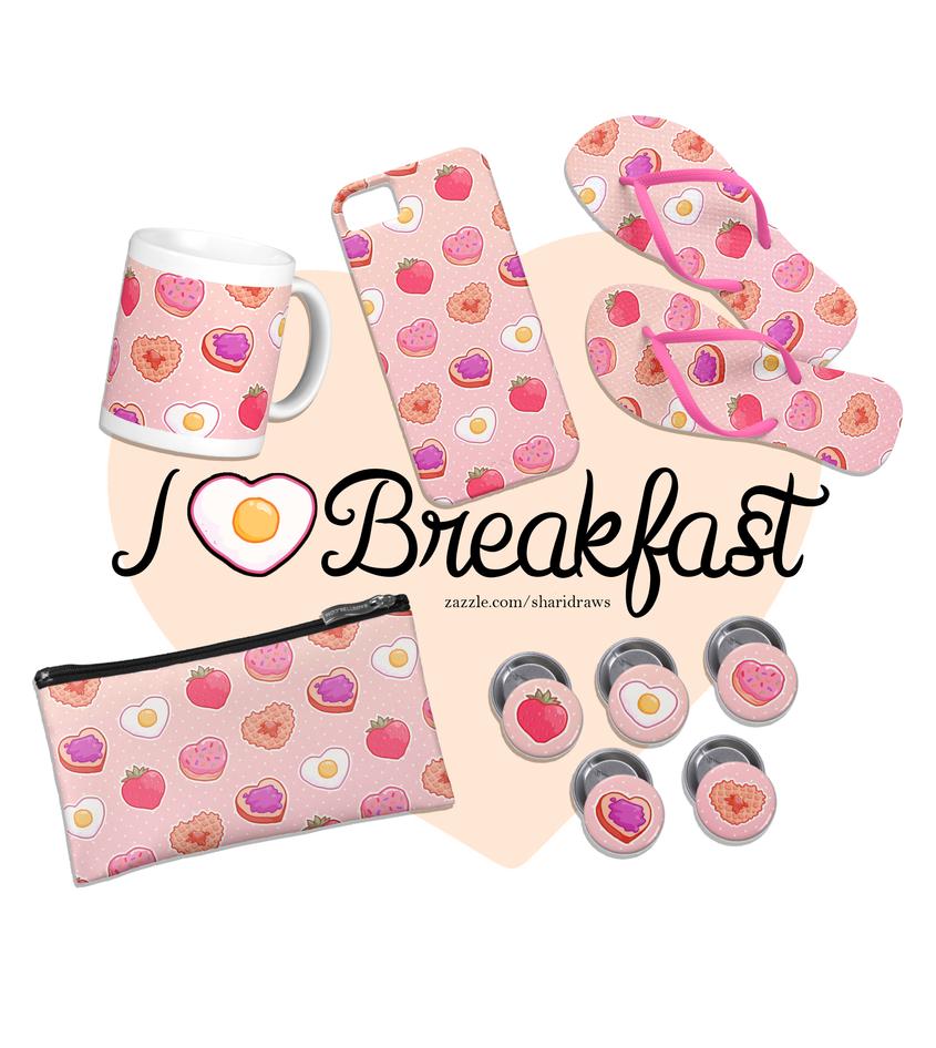 I Heart Breakfast by milkgrrl