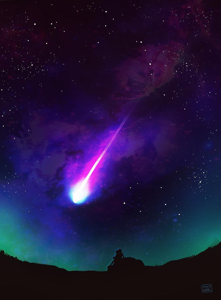 Meteor by milkgrrl