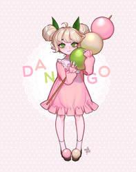 dango girl + SPEEDPAINT
