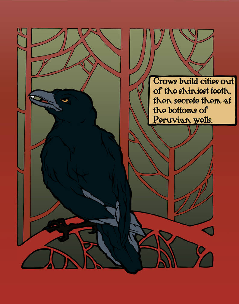 Crows build cities by teriathanin