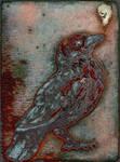 Magnetic Crow enamel