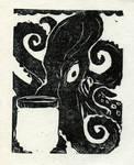 Octopus ex-libris