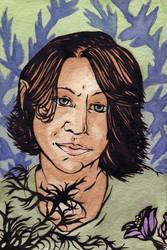 Inky self portrait by teriathanin