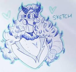~Sketch~ Demon Gal