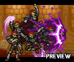 Ganondorf Sprites by Gregarlink10