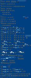 Skyward Sword Link sprites by Gregarlink10