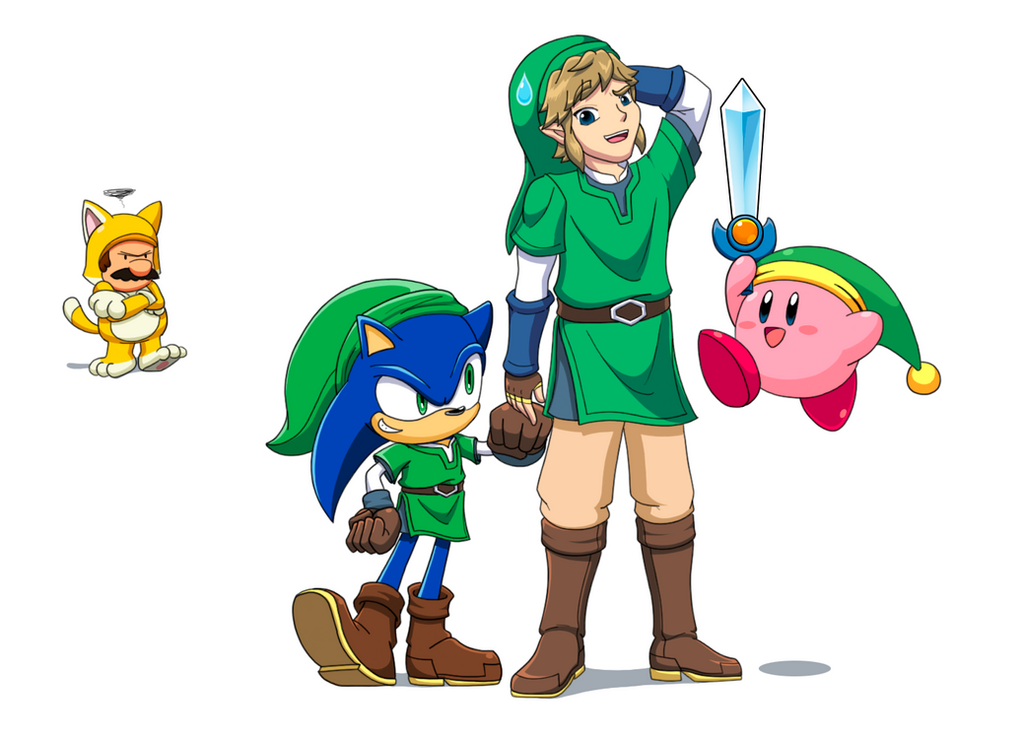Link costumes by Gregarlink10