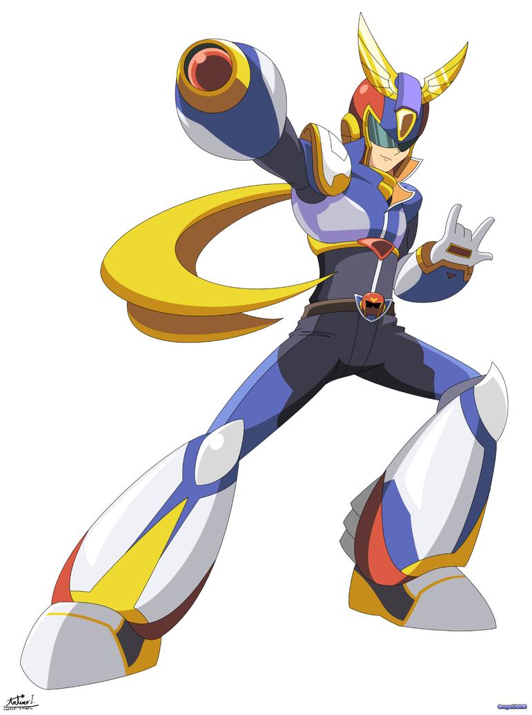 Captain X (MegaMan X + Captain Falcon) by Gregarlink10