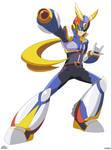 Captain X (MegaMan X + Captain Falcon)