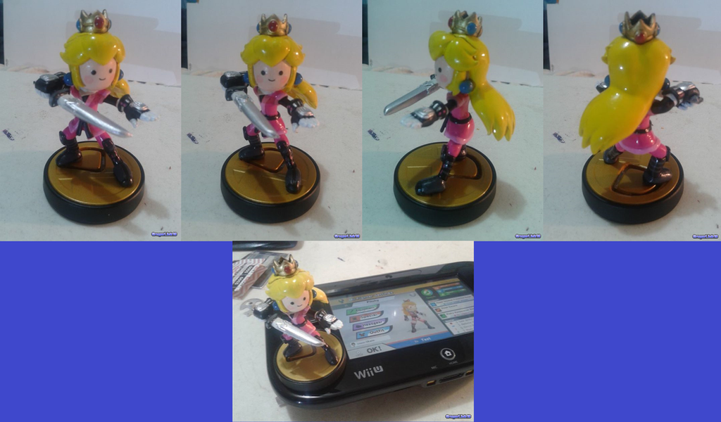 Mii Sword Fighter amiibo (Pitchy) by Gregarlink10