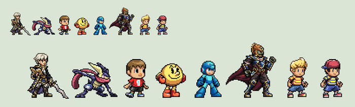 SSB4 Newcomers 2 + others by Gregarlink10