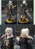 Custom Female Robin amiibo by Gregarlink10