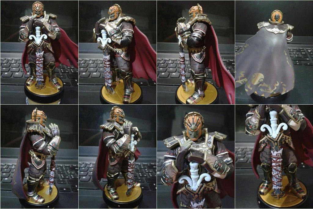 Tp Ganondorf Custom Amiibo By Gregarlink10 On Deviantart