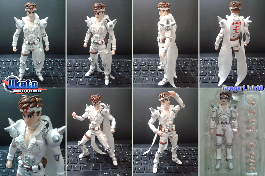 SH Figuarts Jin Saotome custom figure by Gregarlink10