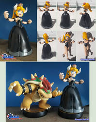 Bowsette fan made figure (also amiibo) by Gregarlink10