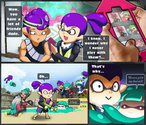 THOSE friend requests (party squids)